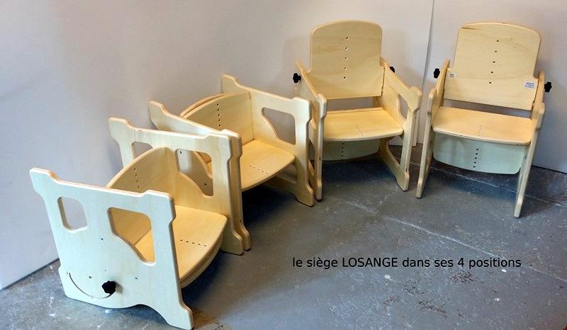Siege de bureau pour handicapé fauteuil de bureau pour personne