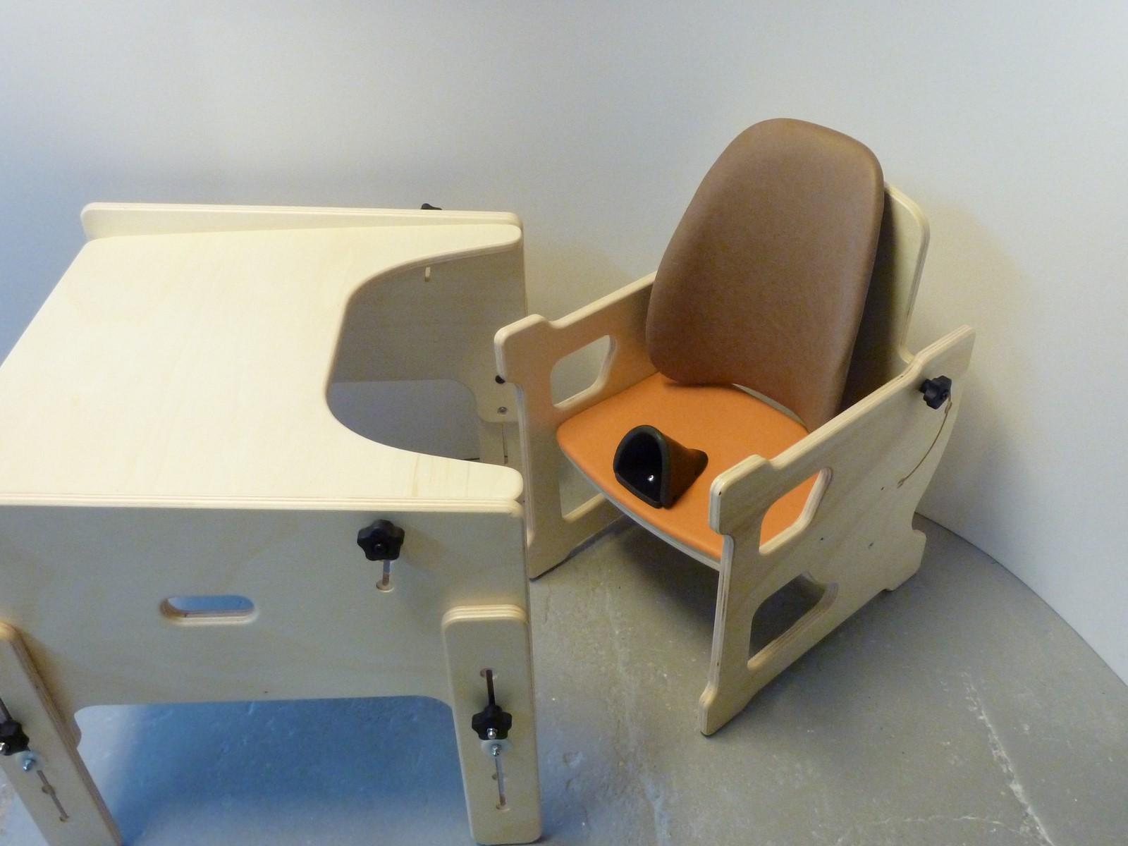 Le siège losange gabamousse mobilier adapté pour enfants
