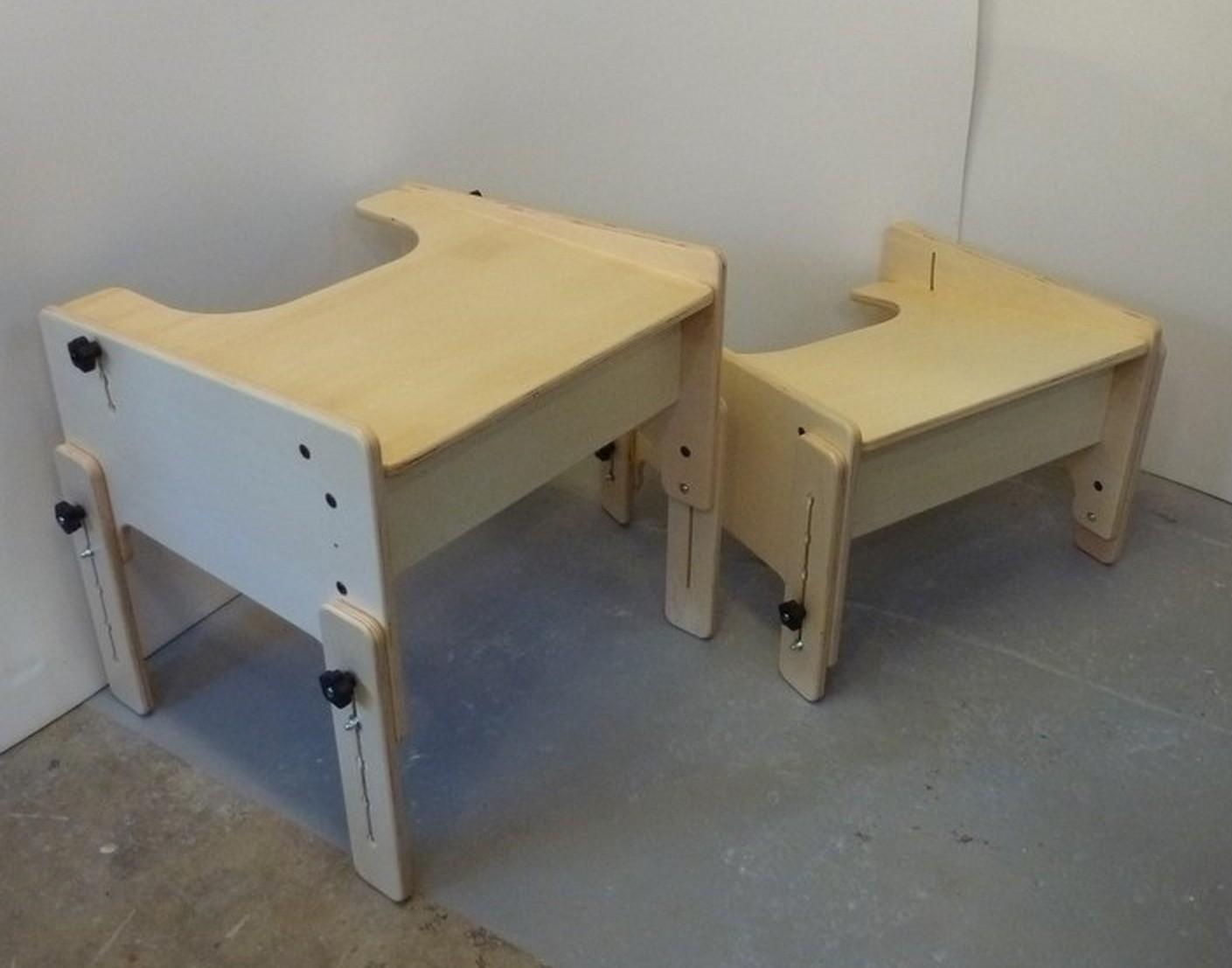 La table basile gabamousse mobilier adapté pour enfants handicapés
